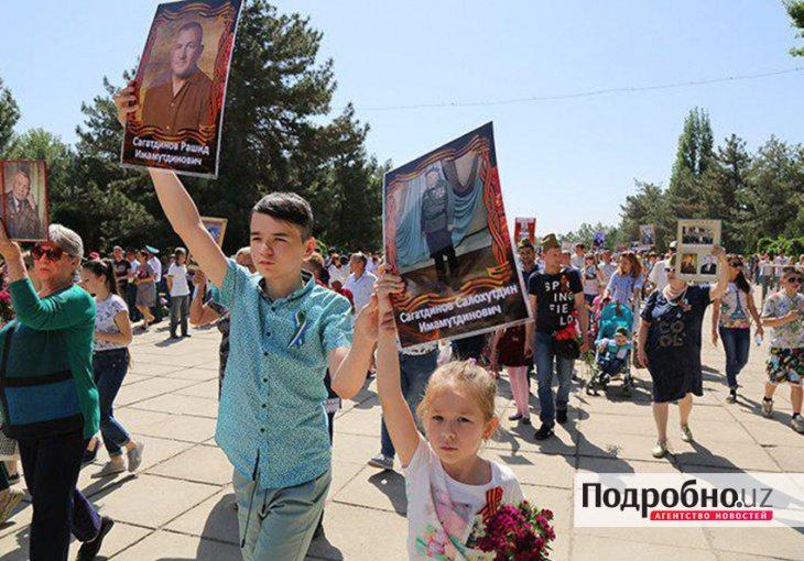 """Хоким Ташкента поддержал проведение акции """"Бессмертный полк"""" по тротуарам и дорожкам"""