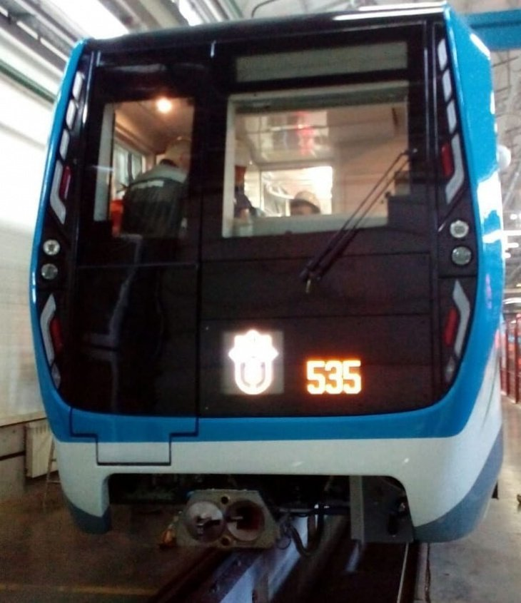 Стало известно, как будут выглядеть новые российские составы, которые поставят для ташкентского кольцевого метро