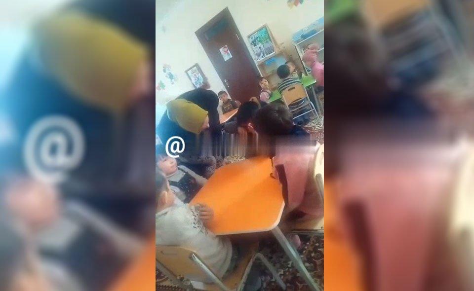 В Узбекистане заведующую детского сада применила силу в отношении ребенка