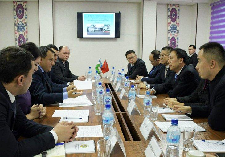 Представители Министерства общественной безопасности КНР ознакомились с работой подразделений ГУВД Ташкента