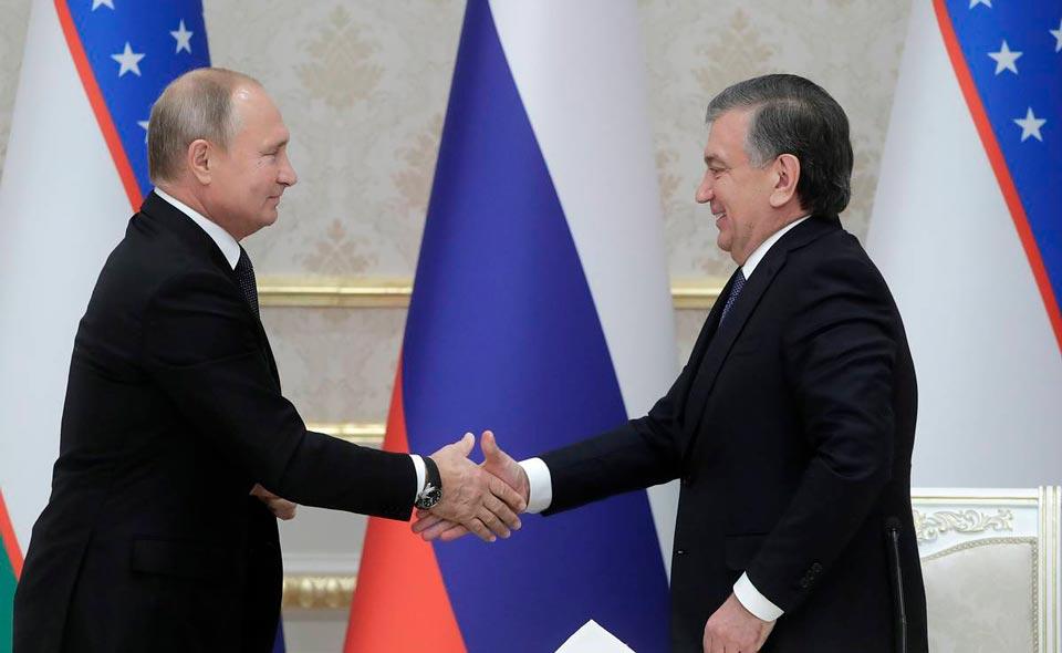 Узбекистан и Россия планируют подписать порядка 30 документов во время визита Мирзиёева в Москву