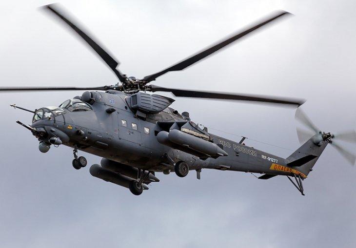 Узбекистан законтрактовал у России десять ударных вертолетов Ми-35М