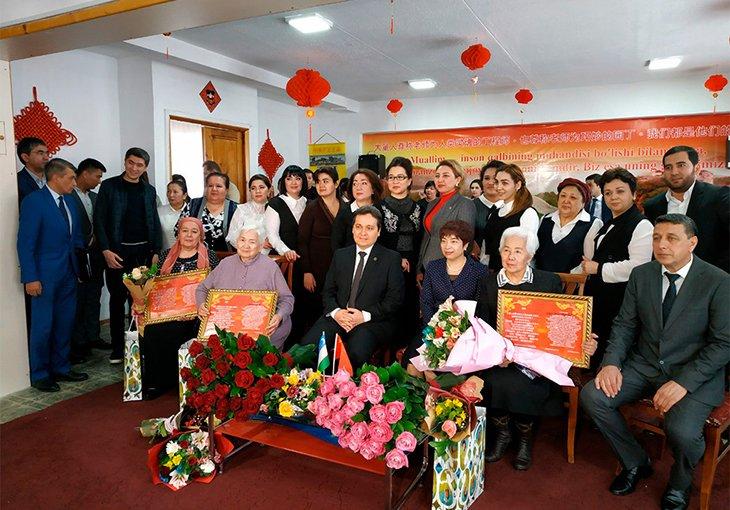 В Ташкенте прошла церемония чествования преподавателей из Китая