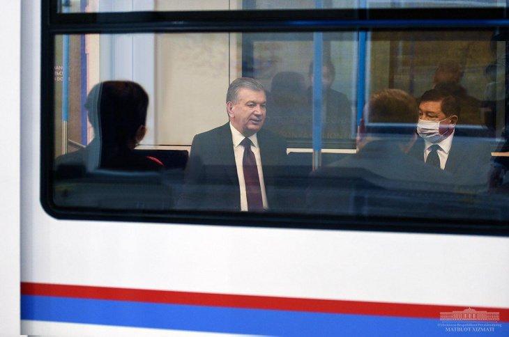Мирзиёев анонсировал строительство новой ветки метро до ТТЗ