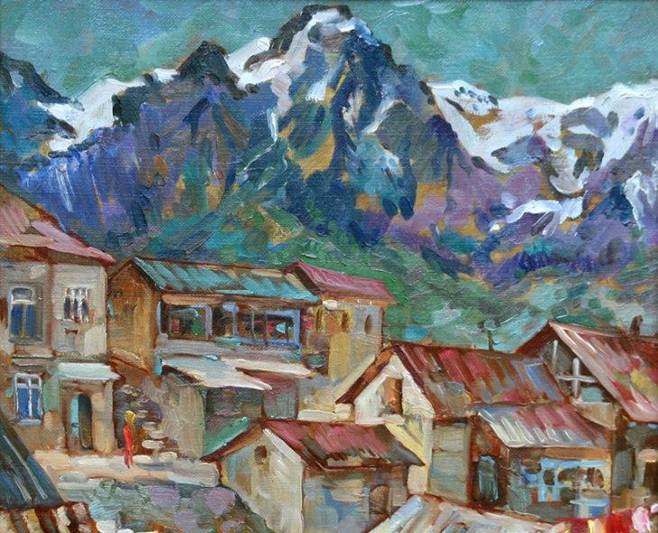 В России проходит выставка работ известного художника Юрия Рылеева